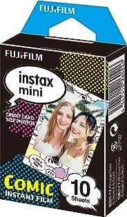 FUJI Instax Mini (Film) Comic for instax mini 7, 7s, 8, 25, 50, 55- Pack of 10 Sheets