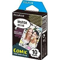 Fujifilm Instax Mini Film Pellicola Istantanea per Fotocamere Comic, Formato 46x62 mm, Confezione da 10 Foto