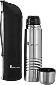 Amazon Brand - Solimo Thermal Stainless Steel Flask (1000 ml)