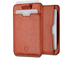 Chelsea Slim Card Sleeve Wallet with RFID Protection by Vaultskin - Top Quality Italian Leather - Ultra Thin Card Holder Desi