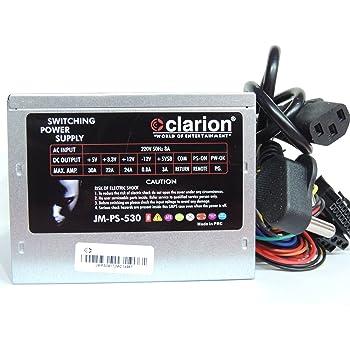 Amazon.in: Buy Clarion SMPS 500 WATT Computer Desktop Power Supply ...