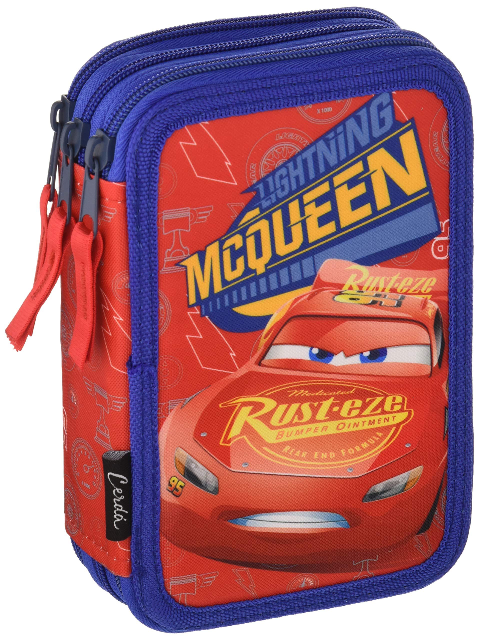 Cars Cars-2700000235 Plumier, Multicolor, 19 cm (Artesanía Cerdá CD-27-0235)