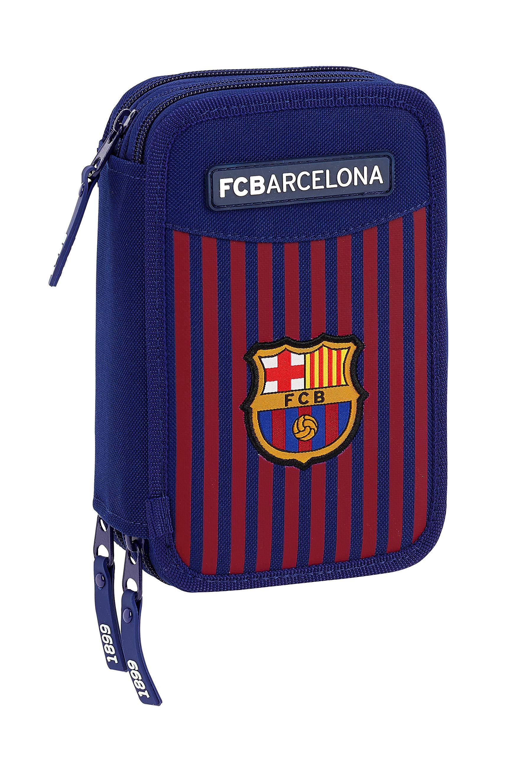 FC Barcelona 411829057 2018 Estuches, 20 cm, Azul