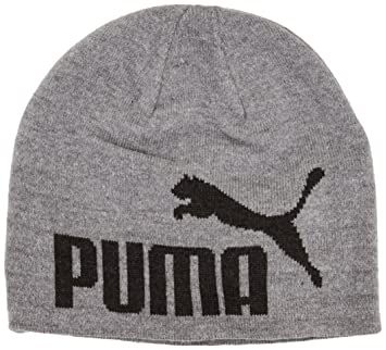 43a9ade1f5635 Puma Men s Logo Beanie Hat - Grey