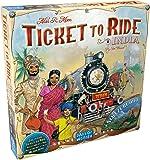 Asmodee - AVE10 - Jeux de Stratégie - Ticket to Ride MC2 - India et Swiss