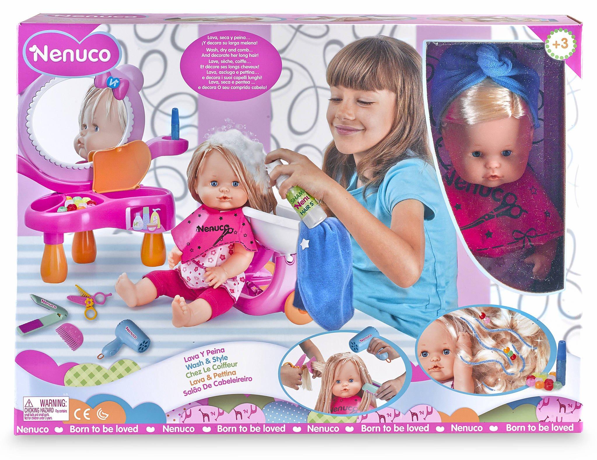 Nenuco – Lava y peina (Famosa 700010856)