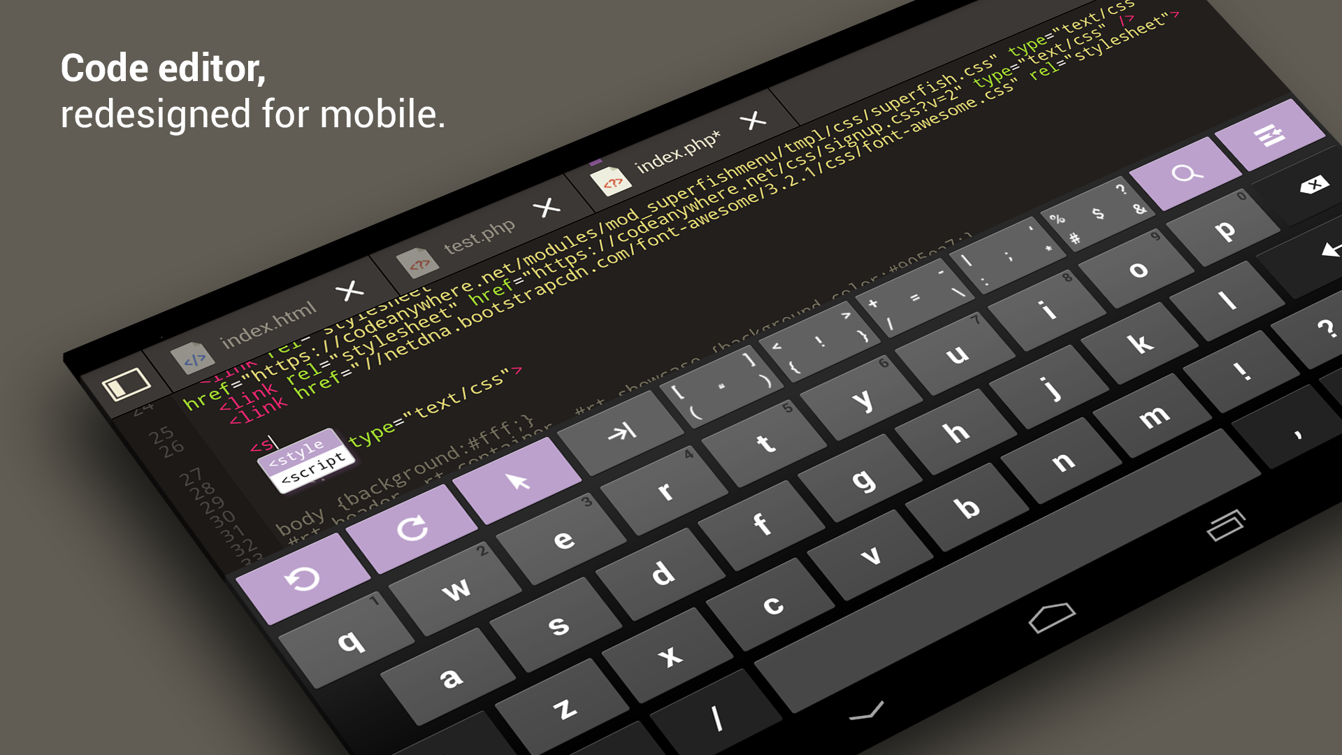 Codeanywhere: Amazon co uk: Appstore for Android
