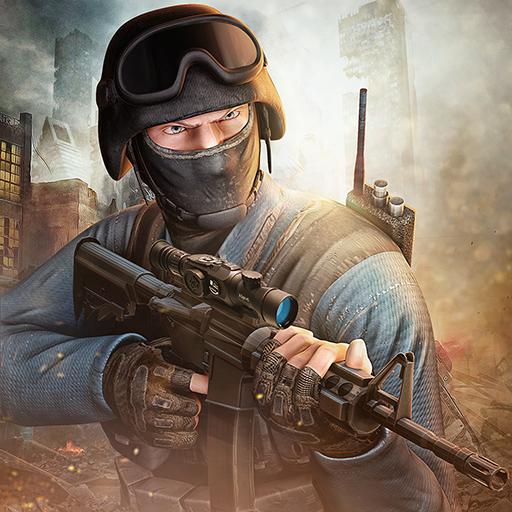 Counter Terrorist Squad Angriff auf Gangster-Stadt in Vegas Crime Case Simulator: Counter Terrorist Krieg Flügel Regeln des Überlebens im Kampfsimulator Shooter Assassin Fury FPS 3D-Spiel ()