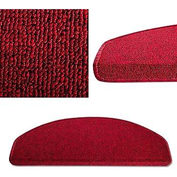Stufenmatten Set London - 15 Stück - rot