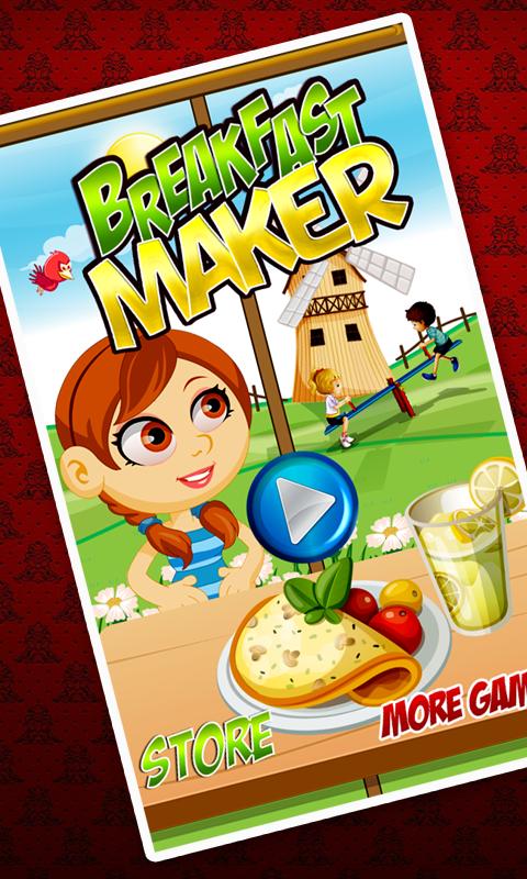 Petit d jeuner maker break jeux de cuisine rapide pour - Jeux de cuisine gratuit pour les filles ...