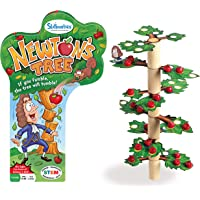 Skillmatics Newton's Tree   Fun Family Game of a Tumbling Tree   Gifts for Ages 6 and Up   Balancing, Stacking, Strategy…