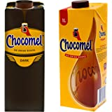 Chocomel Cacao Dark Choco Cacao Karton, 2 soorten, chocolade, Holland chocolade, donker drink chocolade, 1 L
