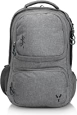 Skybags 34 Ltrs Grey Laptop Backpack (CREW4GRY)