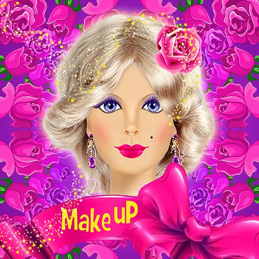 Barbie Doll Makeup, Hairstyle & Dress Up Fashion Top Model Princess Girls Free