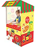 itoys Playhouse Tent for Kids/ Pizza Tent for Kids/Shop Theme Tent/Pretend Play Pizza Shop Tent