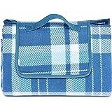 Amazon Basics Picnic Blanket with waterproof backing, 175 x 200 cm