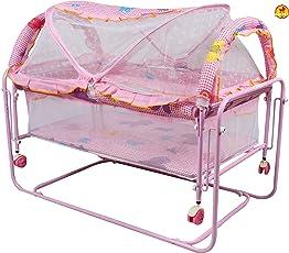 BAYBEE 1-Piece Cocoon Swing Cradle (Pink, BBSC2560_P)