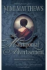 The Matrimonial Advertisement (Parish Orphans of Devon Book 1) Kindle Edition