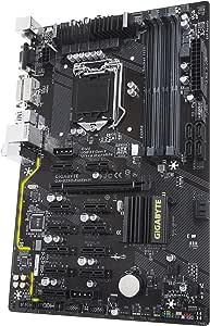 Gigabyte Ga B250 Fintech Lga1151 Intel Atx Cryptocurrency Mining 12pcie 3 0 Ddr4 Motherboard