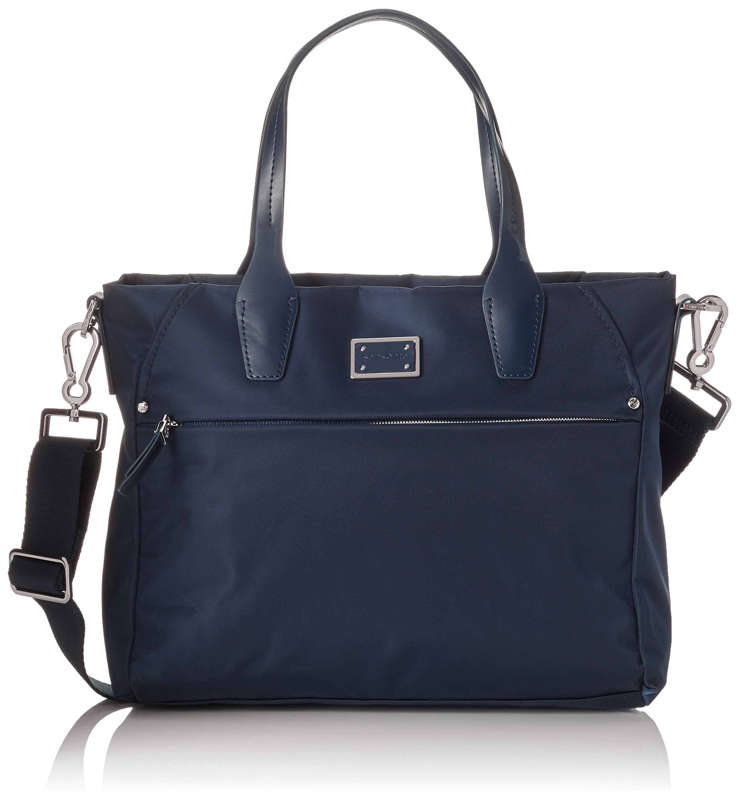 Samsonite City Air Tote Bag iPad Borsa a mano, Nylon, Dark Blue, 30 cm