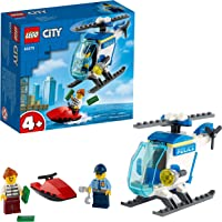 LEGO Police Helicopter Building Blocks for 4 Years and Above