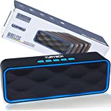 Cassa Bluetooth Portatile 5.0 Altoparlante TUATECH, 12 Watt, Speaker Bluetooth con Microfono, USB, TF Card, AUX, Radio, Stere