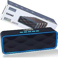 Cassa Bluetooth Portatile 5.0 Altoparlante TUATECH, 12 Watt, Speaker Bluetooth con Microfono, USB, TF Card, AUX, Radio…