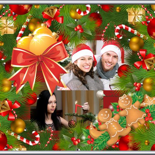 Foto Collage Di Natale.Collage Di Foto Di Natale Amazon It Amazon It