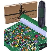 Jaques of London Tapis de Puzzle JUSQU'À 2000 pièces - Tapis de Puzzle avec Tissu Pliable - Rouleau de Puzzle - Tapis à…