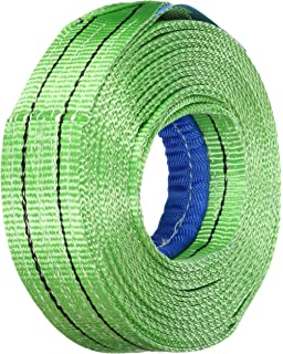 Lifting Strap 1000kg//1,0t Load Capacity 4,0m length Lifting Tape with endschlaufen