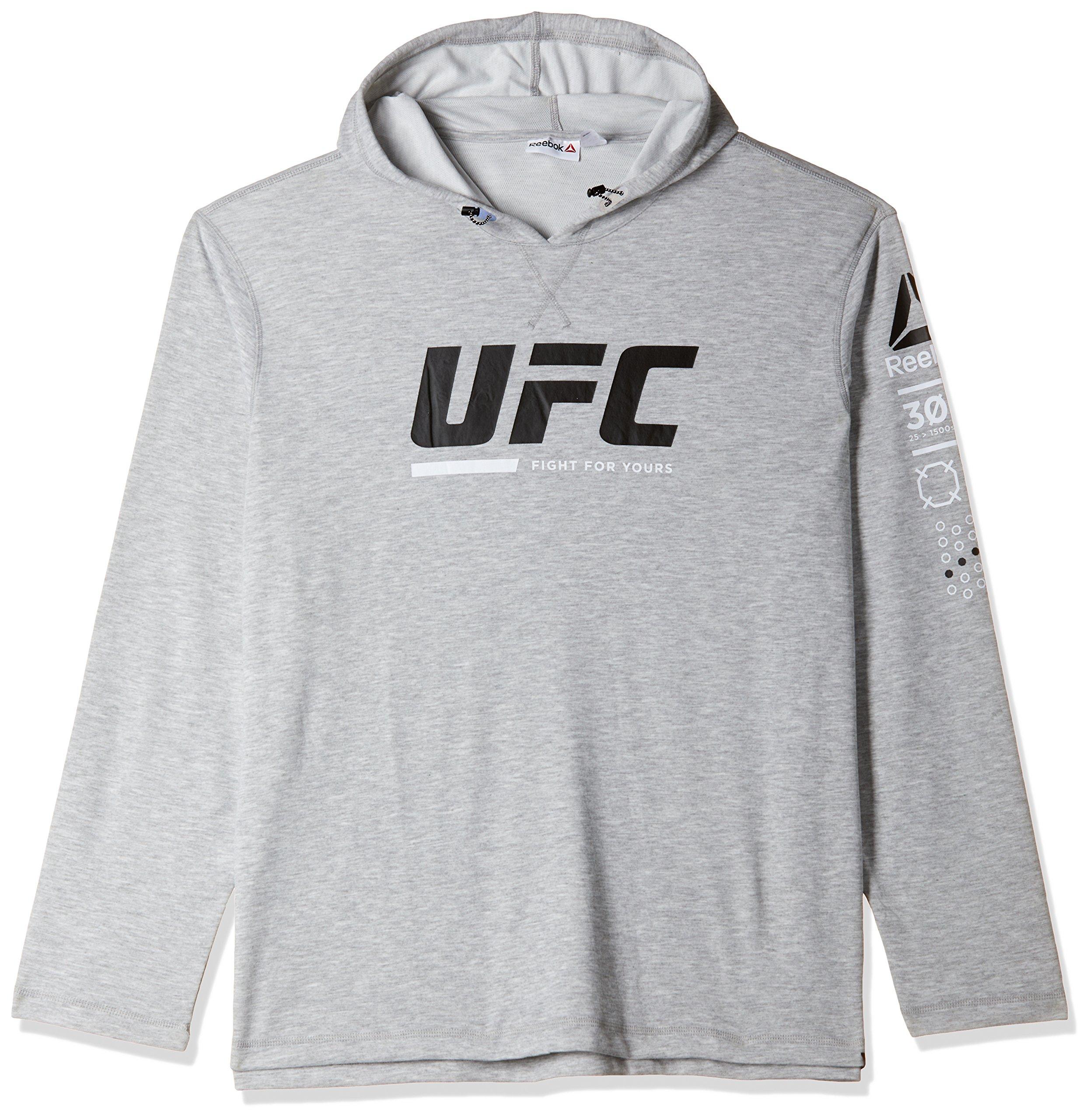 Reebok Herren Ufc FG Pullover Sweatshirt, Grau (Brgrin), S