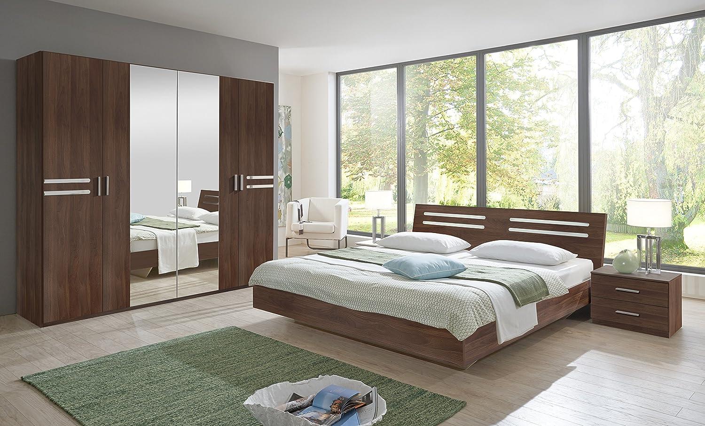 Susan German Brown Walnut Bedroom Furniture Set Tables Door