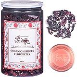 The Indian Chai - Organic Hibiscus Flower Tea 100g | Herbal Tisane | Reduces Blood Sugar