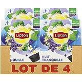 Lipton Infusion Nuit Tranquille, Tilleul, Verveine & Camomille, Capsules Compatibles Nescafé Dolce Gusto 48 Capsules (Lot de