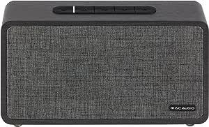 Mac Audio Bt Elite 2000 Bluetooth Lautsprecher Für Ios Und Android Aux Microsd 12 Stunden Akkulaufzeit Schwarz Audio Hifi