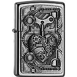 Zippo 2.005.032 Mechero de Steam Punk con forma de corazón de la colección Spring 2016, funda de almohada de satén de acabado