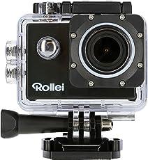Rollei Actioncam 540 - WiFi Action Cam mit 4k Video-Auflösung und Weitwinkelobjektiv, bis 40 m wasserfest, inkl. Unterwasserschutzgehäuse