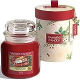 Yankee Candle confezione regalo | Candele profumate natalizie | Giara media Unwrap the Magic | Collezione Magical Christmas M