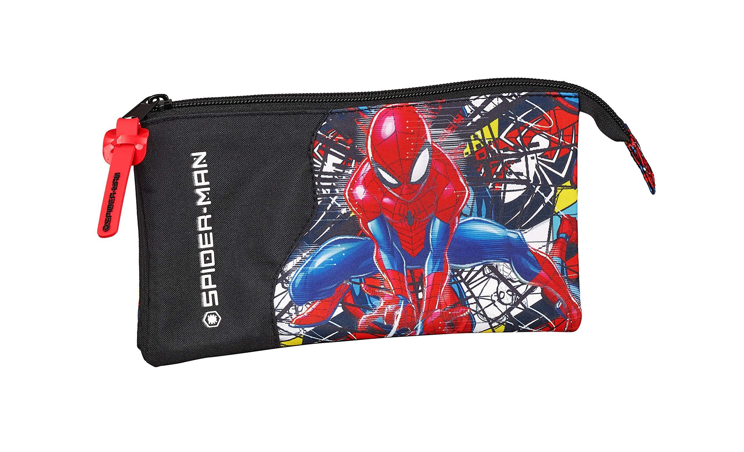 Spiderman «Super Hero» Oficial Estuche Escolar 220x30x100mm
