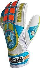 Derbystar Fußball Torwarthandschuhe Attack XP11, Training weiß blau orange, 2648