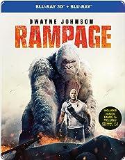 Rampage (Steelbook) (Blu-ray 3D & Blu-ray) (2-Disc)