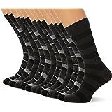 FM London 12-Pack Men's Smart Breathable Socks