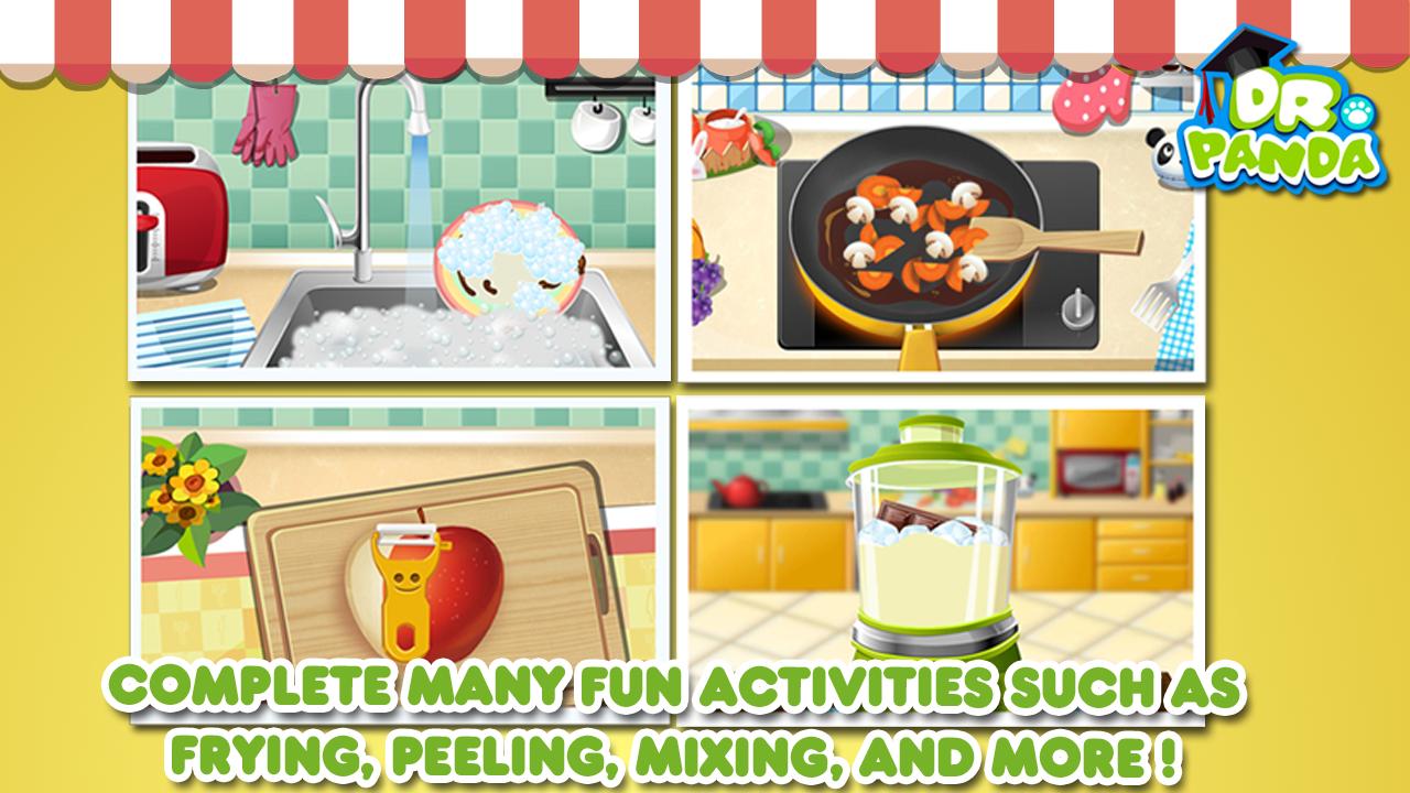 Dr panda restaurant jeu de cuisine pour enfants for Jeu de cuisine pour enfant