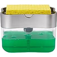 STS S&T 592401 Soap Pump Dispenser and Sponge Holder
