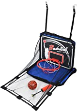 IRIS Arcade Basketball Hoop Game - Single Shot Indoor Shooting System with Mini Hoop, Ball and Pump for Kids