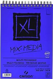 Canson Spp Canxl Mix Media 30S A4 300G Çok Amaçlı Blok
