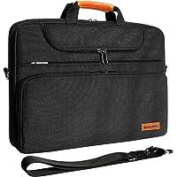 """DOMISO 17 Zoll Wasserdicht Laptop Tasche Aktentasche Schultertasche Notebooktasche Business für 17-17.3"""" Notebook/Dell…"""