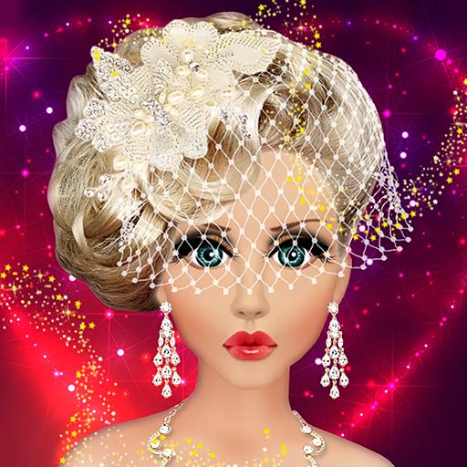 Barbie Doll Wedding Bridal Makeup, Hairstyle & Dressing Up Fashion Top Model Princess