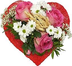 """Blumenstrauß """"Sweet Love"""" VERSANDKOSTENFREI + kostenlose Glückwunschkarte"""