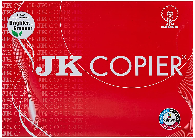 jk copier paper a4 500 sheets 75 gsm 1 ream amazon in